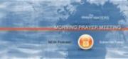 Hartley Institute Morning Prayer Time