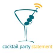 Cocktail Party Statementpodcast radio show | Cocktail Party Statement