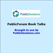 PublicDecisions PublicForum Book Talk