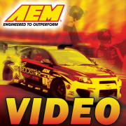 AEM racing and automotive cold air intake videos