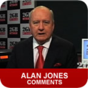 2GB: Alan Jones Comments