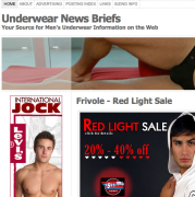 Underwear News Briefs - A Men's Underwear Blog