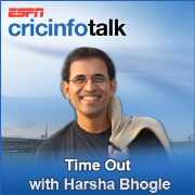 Cricinfo: Time Out with Harsha Bhogle show