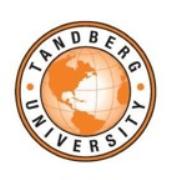TANDBERG University
