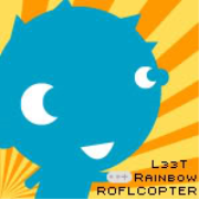 JOY 94.9 (L33T Rainbow ROFLCOPTER)
