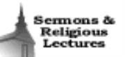 Sermons & Religious Lectures