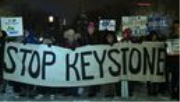 VIDEO: 350.org & Indigenous Groups Hold Vigils to Block Keystone XL Tar Sands Oil Pipeline
