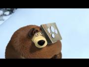 Маша и Медведь - Следы невиданных зверей (Игра в снежки)