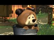 Маша и Медведь - Трудно быть маленьким (Мишка маленький)