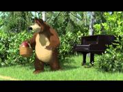 Маша и Медведь - Репетиция оркестра (Рояль в кустах)