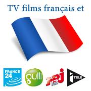 Regarder la télévision et le cinéma français