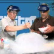 Systm 101: Liquid Nitrogen Makes Delicious Ice Cream in Under a Minute! - Systm