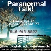 Paranormal Talk!™ | Blog Talk Radio Feed