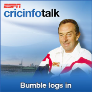 Cricinfo: Bumble Logs In