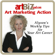 Art Marketing Action Podcasts from Alyson B. Stanfield and ArtBizCoach.com<br />